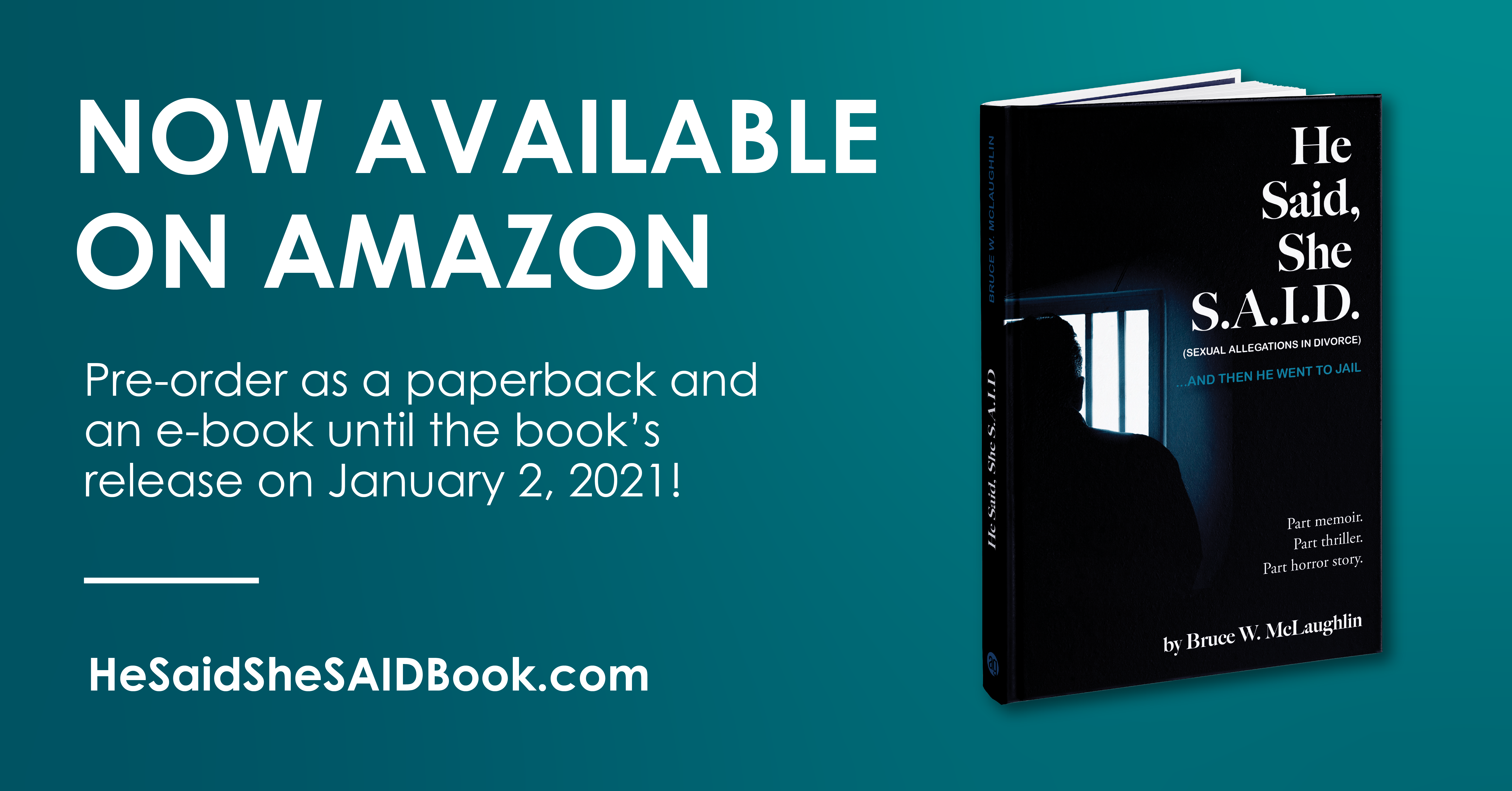 My Book is Available on Amazon!